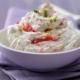 Frischkäse-Erdbeer-Creme
